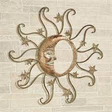 sun and moon indoor outdoor wall art on southwest outdoor metal wall art with southwest wall art touch of class