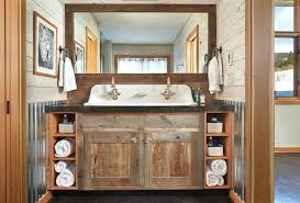 Modern Rustic Bathroom Vanity My Web Value Rustic Modern Bathroom