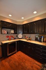 Painted Oak Cabinets Painted Oak Cabinets To New Black By Valspar In Semi Gloss Our