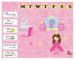 Princess Chore Chart Printable Reward For Girls Chart Printable Chore Chart Reward System Chore Chart Behavior Chart Pdf Chore Chart