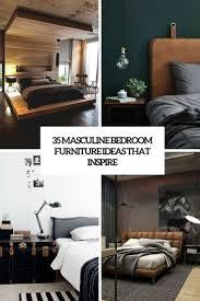 Masculine Bedroom Furniture 35 Masculine Bedroom Furniture Ideas That Inspire Digsdigs