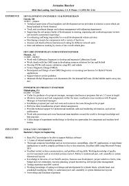 Engineering Resume Examples Powertrain Engineer Resume Samples Velvet Jobs 51
