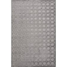 jaipur rugs fables 9 x 12 rayon and chenille rug in gray