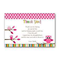 43 Best Owl Party Ideas  Birthday Baby Shower Images On Pinterest Owl Baby Shower Thank You Cards