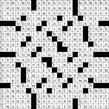 la times crossword 13 jan 19 sunday