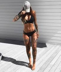 Amazing Tattooed Fitness Girls Women Daily Pictures Motivation