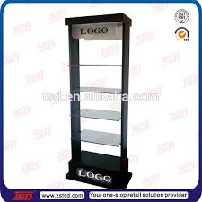Glass Stands For Display Tsdm100 Supermarket Shampoo Floor Display Stand Beauty Salon 53