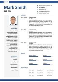 sample of one page resume sample of resume format for job application application format
