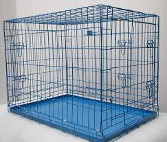 Light Blue Dog Crate