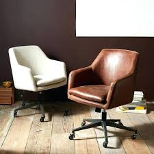 leather swivel office chair. Brown Leather Swivel Desk Chair Computer Office Faux Small Home Desks Corner Waiting Room Chairs Dr