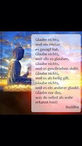 Buddha Zitate Glaube Nichts