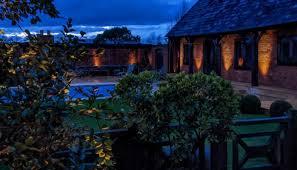 garden lighting design hampshire