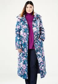 a line puffer coat