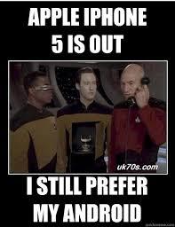 star trek iphone android memes   quickmeme via Relatably.com