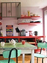 Retro Renovation Kitchen Retro Kitchen Renovation Nostalgic Kitchen In A Darker Tone Of