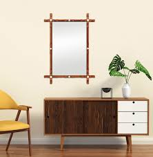 Wood wall mirrors Contemporary Antique Mirrors Paris Scandinavian Inspiration Wood Mirror
