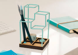 25+ unique Desk tidy ideas on Pinterest | Paper plate crafts, Desk caddy  and Wood phone stand