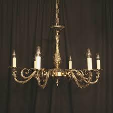 an italian cast brass 46 light antique chandelier 46