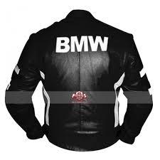 motorcycle stripes blue black leather jacket