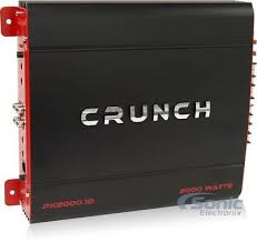 crunch px20001d 2000 watt monoblock sub amplifier ebay 6 Channel Amp Wiring Diagram at Crunch Amp Wiring Diagram
