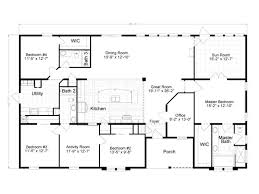 2500 sq ft bungalow house plans new 2500 sq ft modular house plans single story google