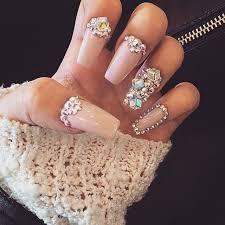 Pinterest~ @loovvenicole   <b>Rhinestone nails</b>, <b>Bling nails</b>, Glam nails