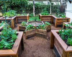 Small Picture Garden Design Top 29 Garden Design Using Raised Beds Simple