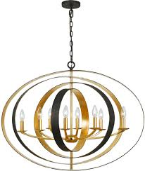 crystorama 588 eb ga luna english bronze antique gold chandelier lighting loading zoom