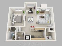 Charming Floor Plan For 1 Bedroom Apartment Trends Including Plans Design  Images Elegant Park On Clairmont