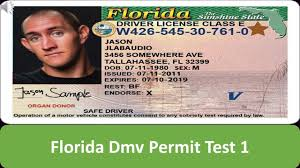Florida - Permit 1 Youtube Test Dmv