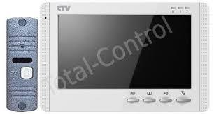 <b>Комплект видеодомофона CTV</b>-<b>DP1704MD</b> в одной коробке ...