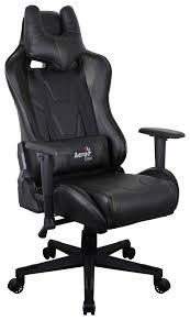 Купить игровое <b>кресло Aerocool AC220</b> AIR (Black) в Москве в ...