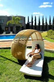 unique garden furniture. Unusual Wooden Garden Furniture Perfect Outdoor Seating Patio Daybed Acrylic Material Unique T
