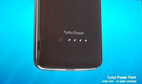 moto turbopower. one other noticeable difference is the battery capacity as moto z2 play now comes with a 3000 mah battery, which less than 3510 turbopower