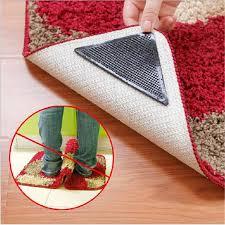 captivating non skid rug of area pad 4x5 4 x 5 slip underlay nonslip pads
