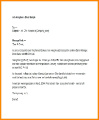 Letter Rejecting Job Offer Thank You Email After Acceptance Of ...