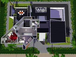 house plan sims 4 beautiful modern house plans in sims 3