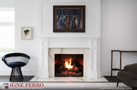 md residence living room gas fireplace