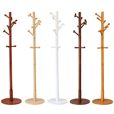 Wooden Coat Rack Stand Custom Modern Luxury Hall Tree Wood Coat Rack Stand Furniture Bedroom