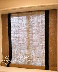 Best 25 Burlap Drapes Ideas On Pinterest  Burlap Living Rooms Burlap Window Blinds