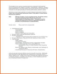 Employee Disciplinary Write Up Form Template New Notice Example Week ...