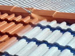 tile roofs spray on tile roof