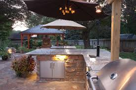 Outdoor Kitchen Lighting Outdoor Kitchens Living Areas Lancaster Pa Ce Pontz Sons