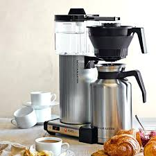 coffee maker 12 cup thermal carafe kitchenaid kcm1203ob 12 cup thermal carafe coffee maker