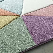 purple and green rug street modern geometric carved pink purple area rug