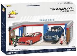 Купить <b>Конструктор Cobi Maserati</b> 24568 Garage Set по низкой ...