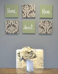 kitchen canvas wall decor eat drink be merry olive green brown intended for kitchen canvas