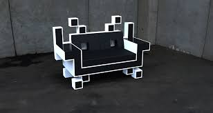 Space Invader Couch Igor Chaks Space Invader Couch Industrial Concept Design Rest