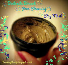 bentonite clay acne pore cleansing face mask