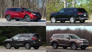 Suv Comparison Chart 2018 Our 10 Highest Rated Suvs Of 2018